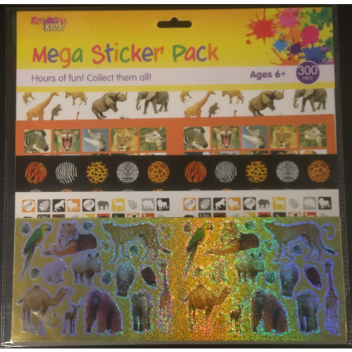 Mega Sticker Pack - Wildlife