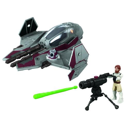 Star Wars Mission Fleet Obi-Wan Kenobi Jedi Starfighter
