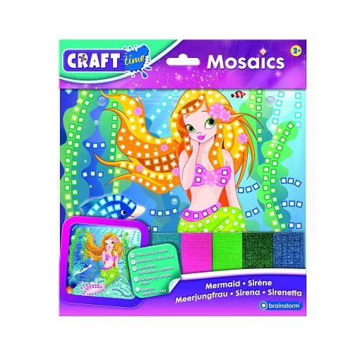 Craft Time Mosaics - Mermaid