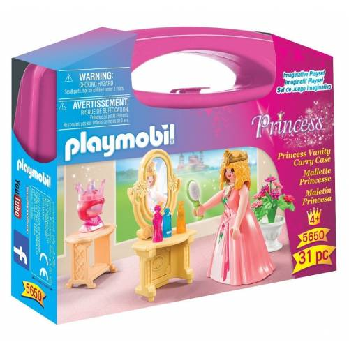 Playmobil Princess 5650 Princess Vanity Carry Case