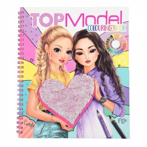 Depesche Top Model Colouring Book - Candy & Miju