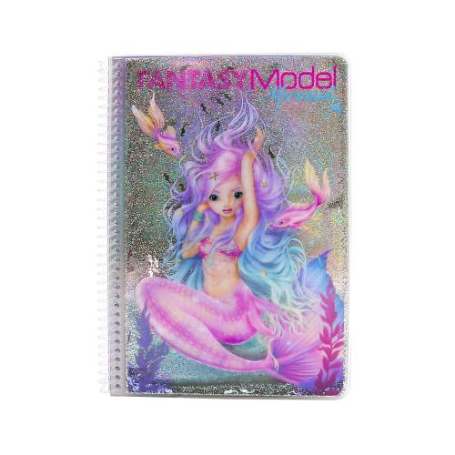 Depesche Fantasy Model Mermaid Colouring Book
