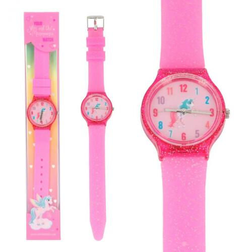 Depesche Ylvi & the Minimoomis Silicone Watch - Pink