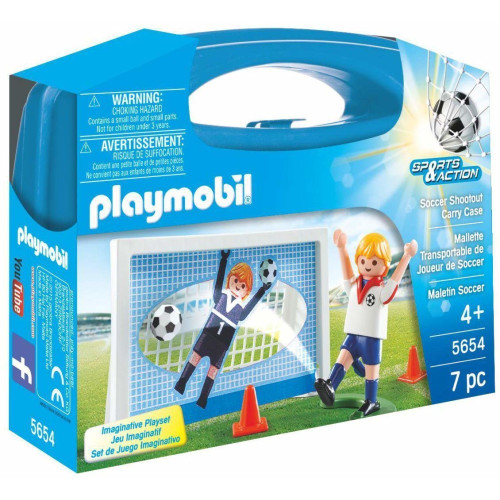 Playmobil 5654 Soccer Shootout Carry Case