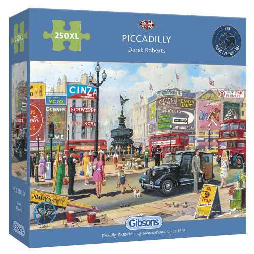 Gibsons Piccadilly 250pc XL Puzzle