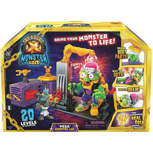 Treasure X Monster Gold - Mega Monster Lab