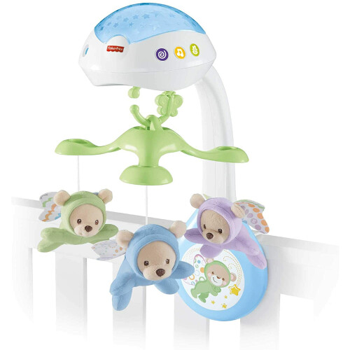 Fisher Price Butterfly Dreams 3 in 1 Projection Mobile