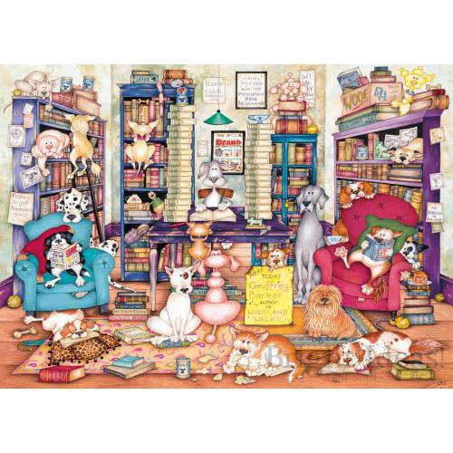 Gibsons Bark's Books 1000pc