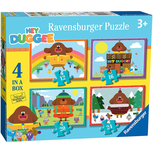 Ravensburger 4 Puzzles in a Box Hey Duggee