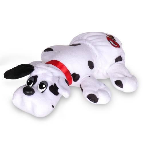 Pound Puppies Newborn - White with Black Spots