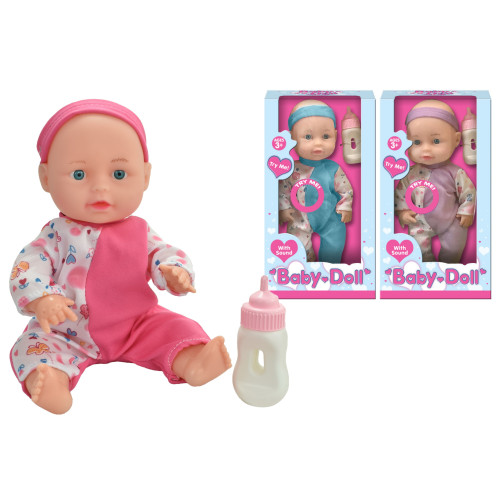 Baby Doll With Sound- Assorted