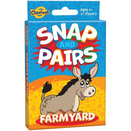 Snap And Pairs Farmyard