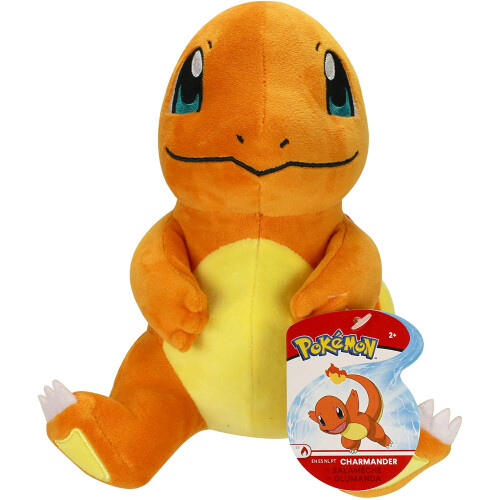 Pokemon 8 Inch Plush - Charmander (Sitting)