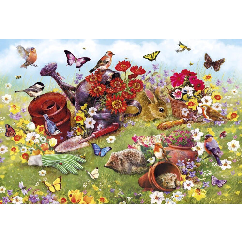 Gibsons In the Garden 500pc Puzzle