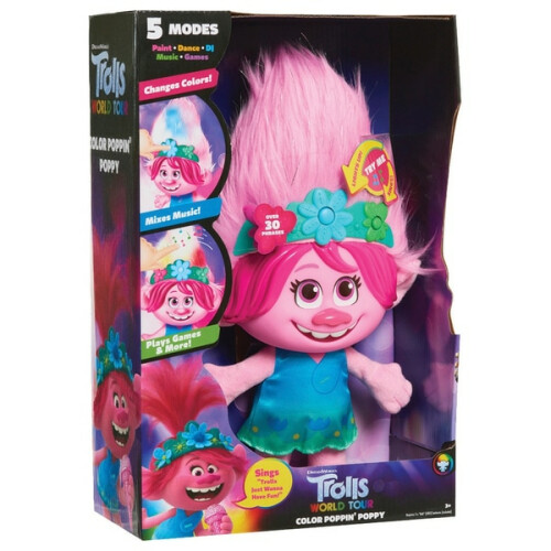 Trolls World Tour - Colour Poppin' Poppy