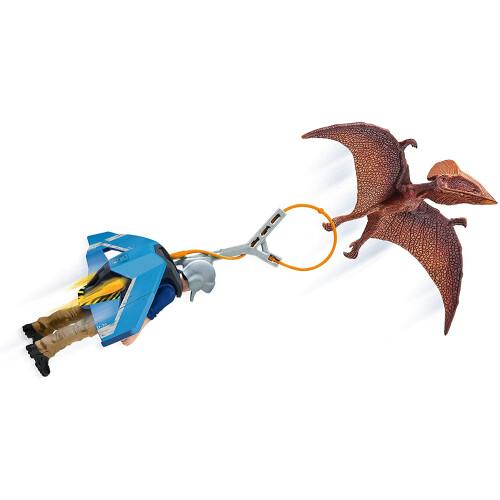 Schleich  41467 Dinosaur Jetpack Chase