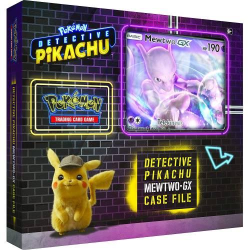 Pokemon TCG Detective Pikachu Mewtwo-GX Case File