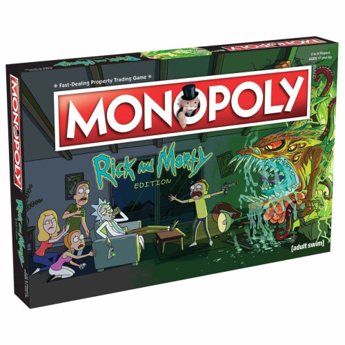 Monopoly Rick And Morty