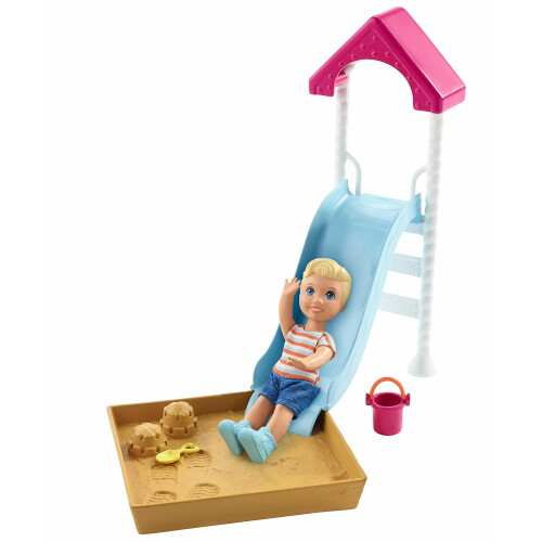 Barbie Skipper Babysitters INC Slide Playset