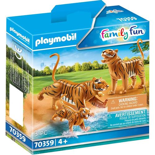 Playmobil 70359 Family Fun Tigers with Cub