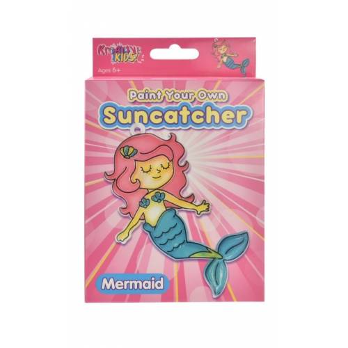Kreative Kids - Paint Your Own Suncatcher - Mermaid