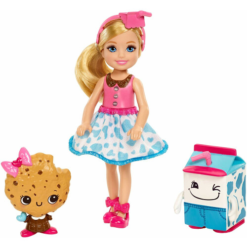 Barbie Dreamtopia Chelsea And Sweet Milk And Biscuit Friends