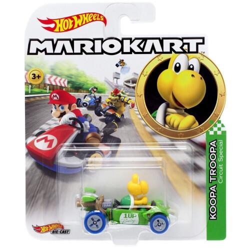 Hot Wheels Mario Kart - Koopa Troopa (Circuit Special)