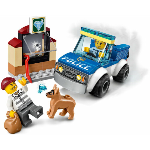 Lego 60241 City Police Dog Unit