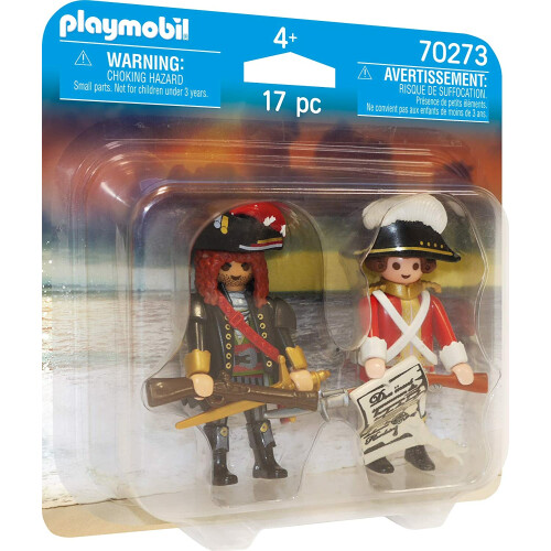 Playmobil  70273 Pirate and Redcoat