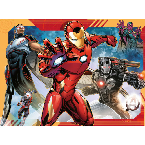 Ravensburger 4 Puzzles in a Box Avengers Assemble