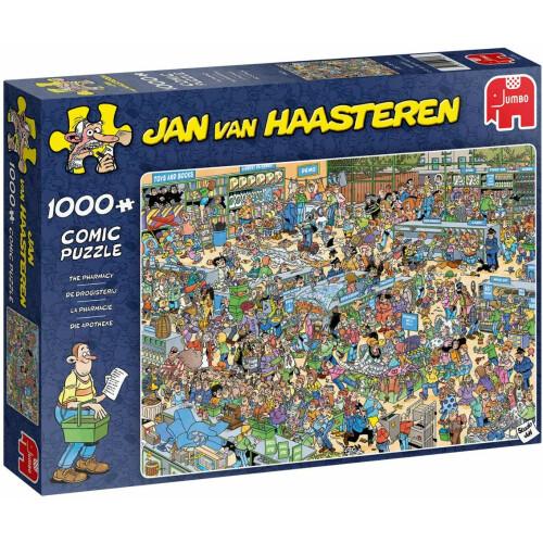Jan Van Haasteren The Pharmacy 1000pc Jigsaw Puzzle
