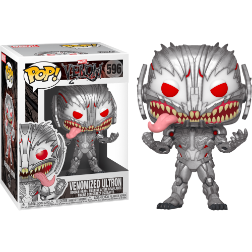 Funko Pop Vinyl - Marvel Venom - Venomized Ultron 596