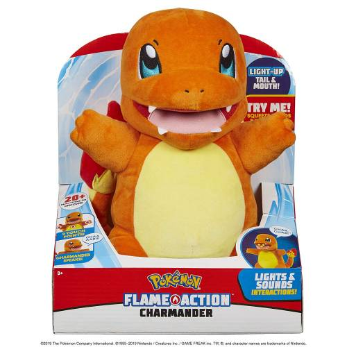 Pokemon Flame Action Charmander
