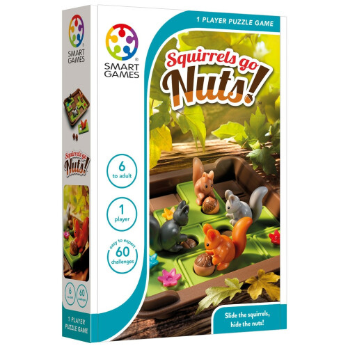 Puzzle Game - Squirrels Go Nuts!