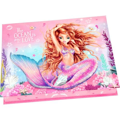 Depesche Fantasy Model Mermaid Box with Stationary