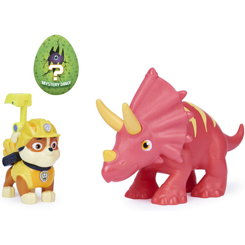Paw Patrol Dino Rescue - Rubble and Triceratops