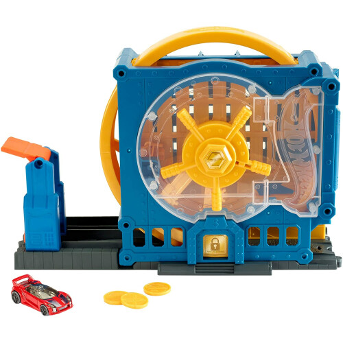 Hot Wheels City Super Bank Blast-Out