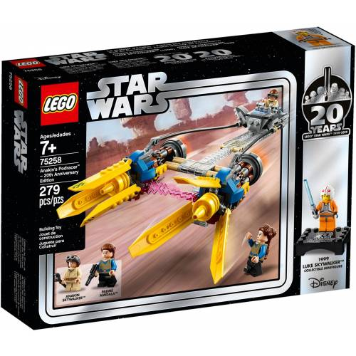 Lego 75258 Star Wars Anakin's Podracer™ – 20th Anniversary Edition