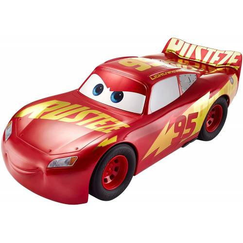 Disney Pixar Cars Rust-eze Racing Lightning McQueen 20 Inch Vehicle