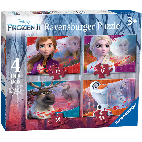 Ravensburger 4 Puzzles in a Box Frozen 2