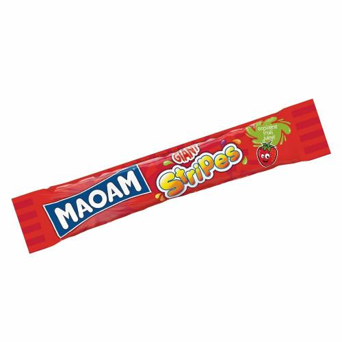 Maoam Giant Stripes Strawberry Chew Bar