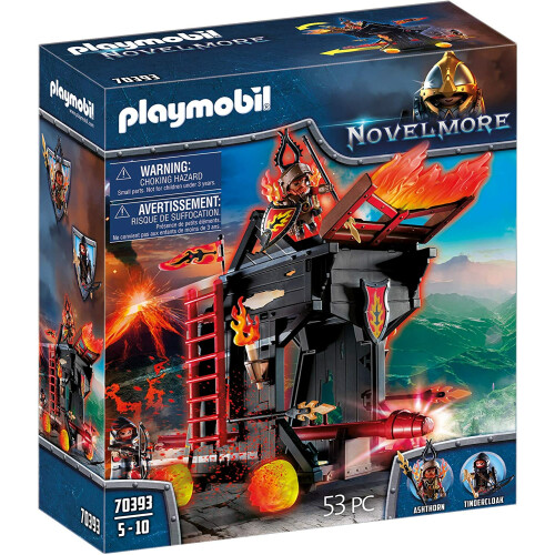 Playmobil 70393 Novelmore Burnham Raiders Fire Ram
