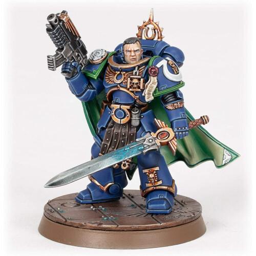 Warhammer 40,000 - Ultramarines Captain Uriel Ventris Commerative Series