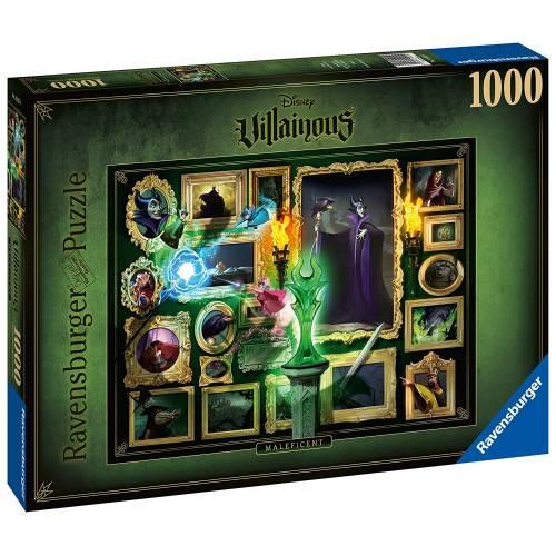 Ravensburger Disney Villainous 1000pc Puzzle - Maleficent