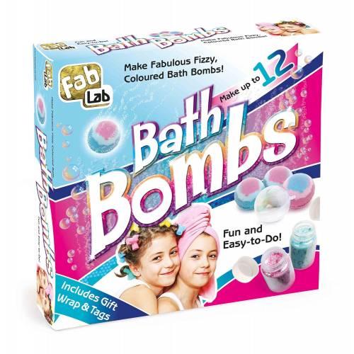 Fab Lab Bath Bombs