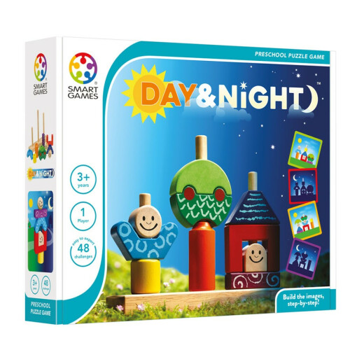 Preschool Puzzle Game - Day & Night