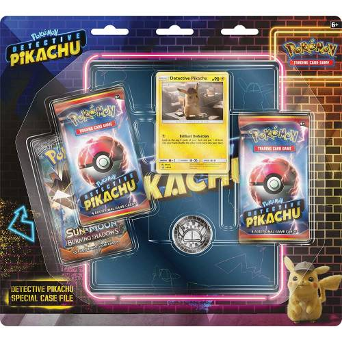 Pokemon TCG Detective Pikachu Special Case File