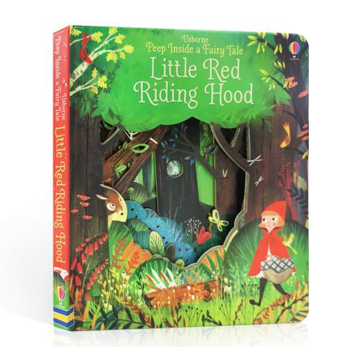 Usborne Books - Peep Inside a Fairy Tale Little Red Riding Hood
