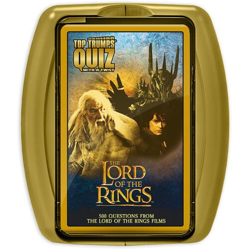 Top Trumps Quiz With A Twist - The Lord Of The Rings