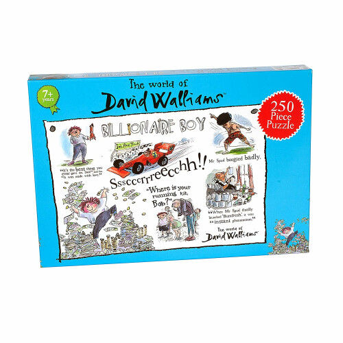 The World Of David Walliams - Billionaire Boy 250pc Puzzle